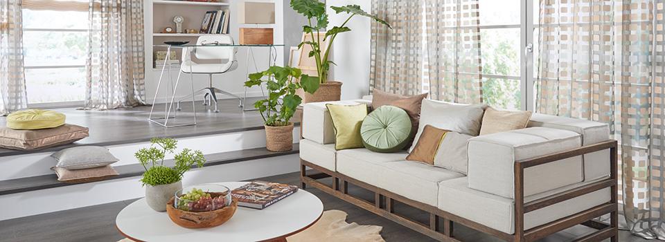 Dekostoffe gardinen dekoline modernes wohndesign in for Wohndesign 2015