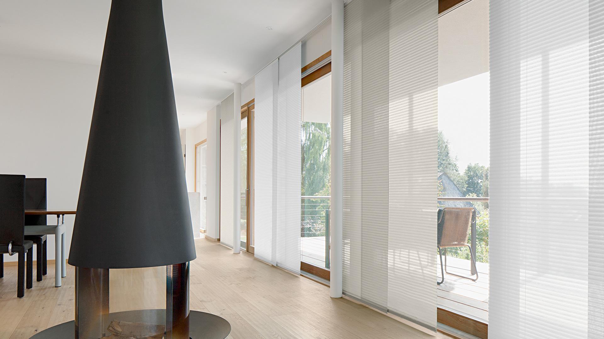 Sicht sonnenschutz dekoline modernes wohndesign in for Wohndesign trend